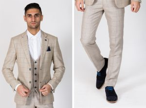 Harding Check Jacket and Trouser by Marc Darcy