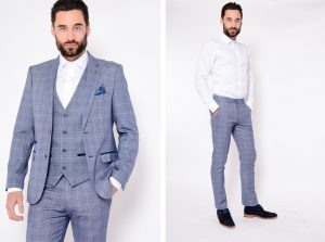 Harry Check Jacket and Trouser by Marc Darcy