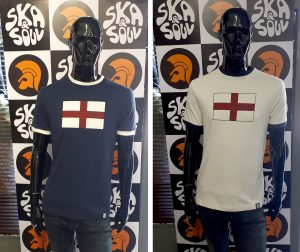 SS2192 St George Flag T Shirt by Ska and Soul