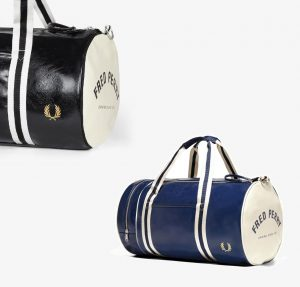 L3330 Classic Barrel Bag by Fred Perry