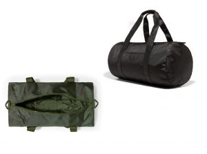 L3214 Tonal Track Barrel Bag by Fred Perry