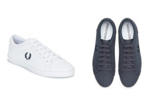 B3114 Baseline Canvas by Fred Perry
