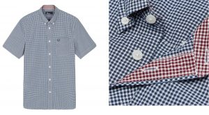 M6378 Classic Gingham Shirt by Fred Perry