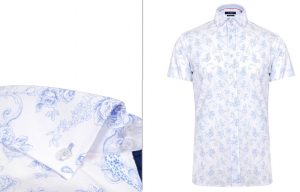Bury Short Sleeve Floral Shirt by Jiggler Lord Berlue