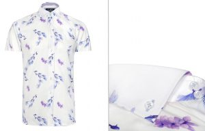 Nest Short Sleeve Floral Shirt by Jiggler Lord Berlue
