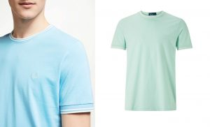 M1588 Twin Tipped T Shirt by Fred Perry