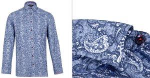 Flay Paisley Print Shirt by Jiggler Lord Berlue