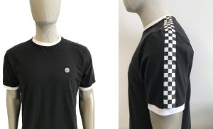 SS2240 Chequerboard Tape T Shirt by Ska and Soul