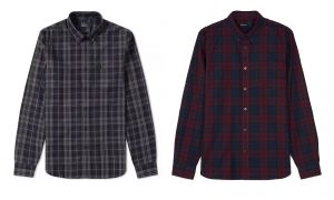 M4534 Winter Tartan Shirt by Fred Perry