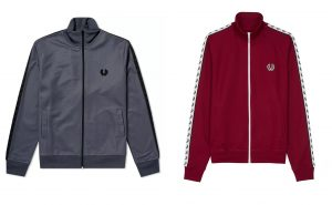 J6231 Taped Track Jacket by Fred Perry