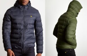 JK818V Lightweight Puffer Jacket by Lyle and Scott