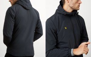 JK921V Microfleece Lined Jacket by Lyle and Scott