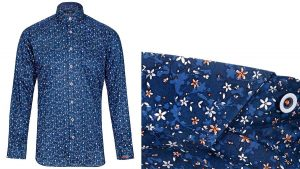 Oak Floral Print Shirt by Jiggler Lord Berlue