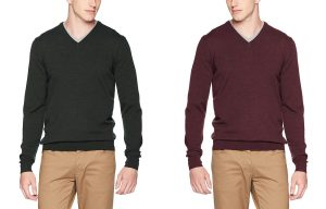 K4500 Classic V Neck Jumper by Fred Perry