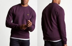 ML424VB Crew Neck Sweatshirt by Lyle and Scott