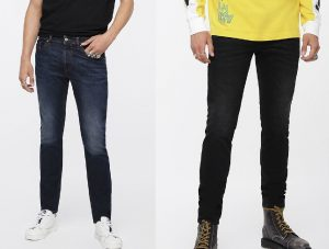 Thommer Slim Skinny Jean by Diesel