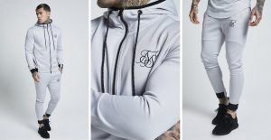 Agility Zip Through Hoody & Track Pants by Sik Silk