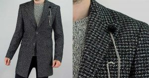Gus Signature Collection Overcoat by House of Cavani