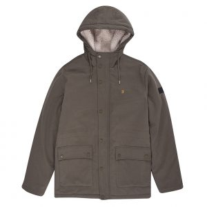 F4RF8034 Newhall Hooded Jacket by Farah