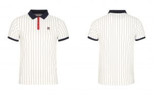 BB1 Classic Vintage Striped Polo by Fila