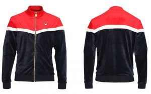 Harry Velour Track Jacket by Fila