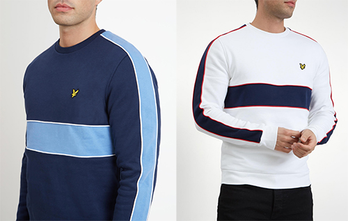 ML1002V Cut & Sewn Sweatshirt by Lyle and Scott