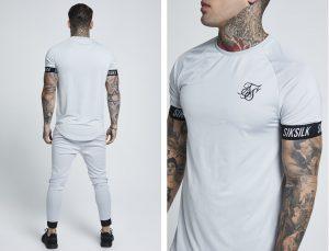 Short Sleeve Tech T Shirt by Sik Silk