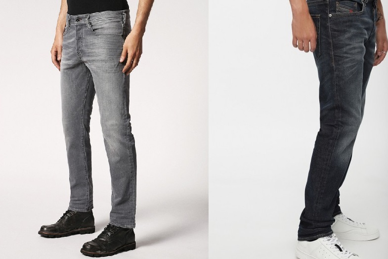 Buster 084HP Regular Slim Tapered Jean by Diesel