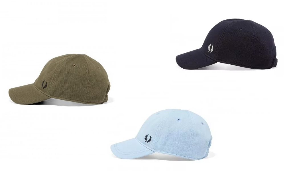 HW3650 Pique Classic Cap by Fred Perry