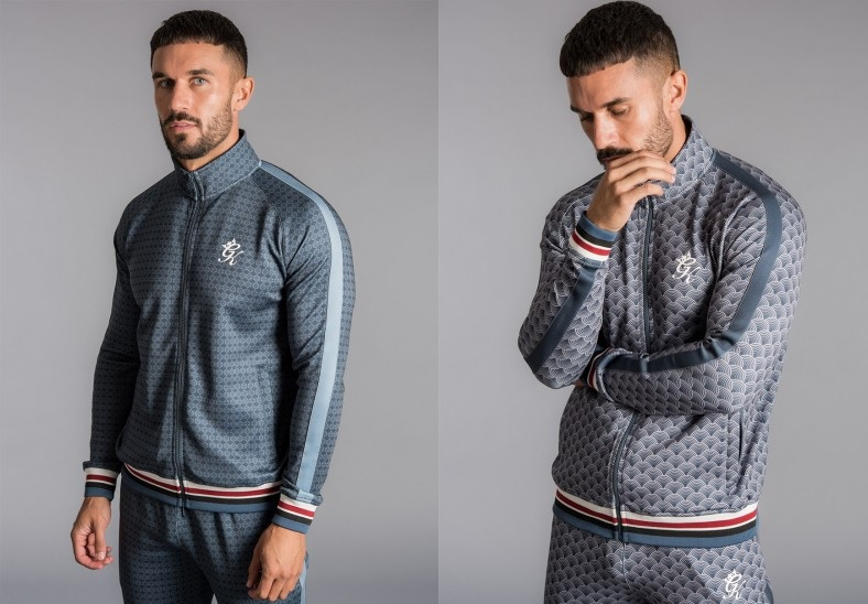 Funnel Neck Tracksuit Tops by Gym King
