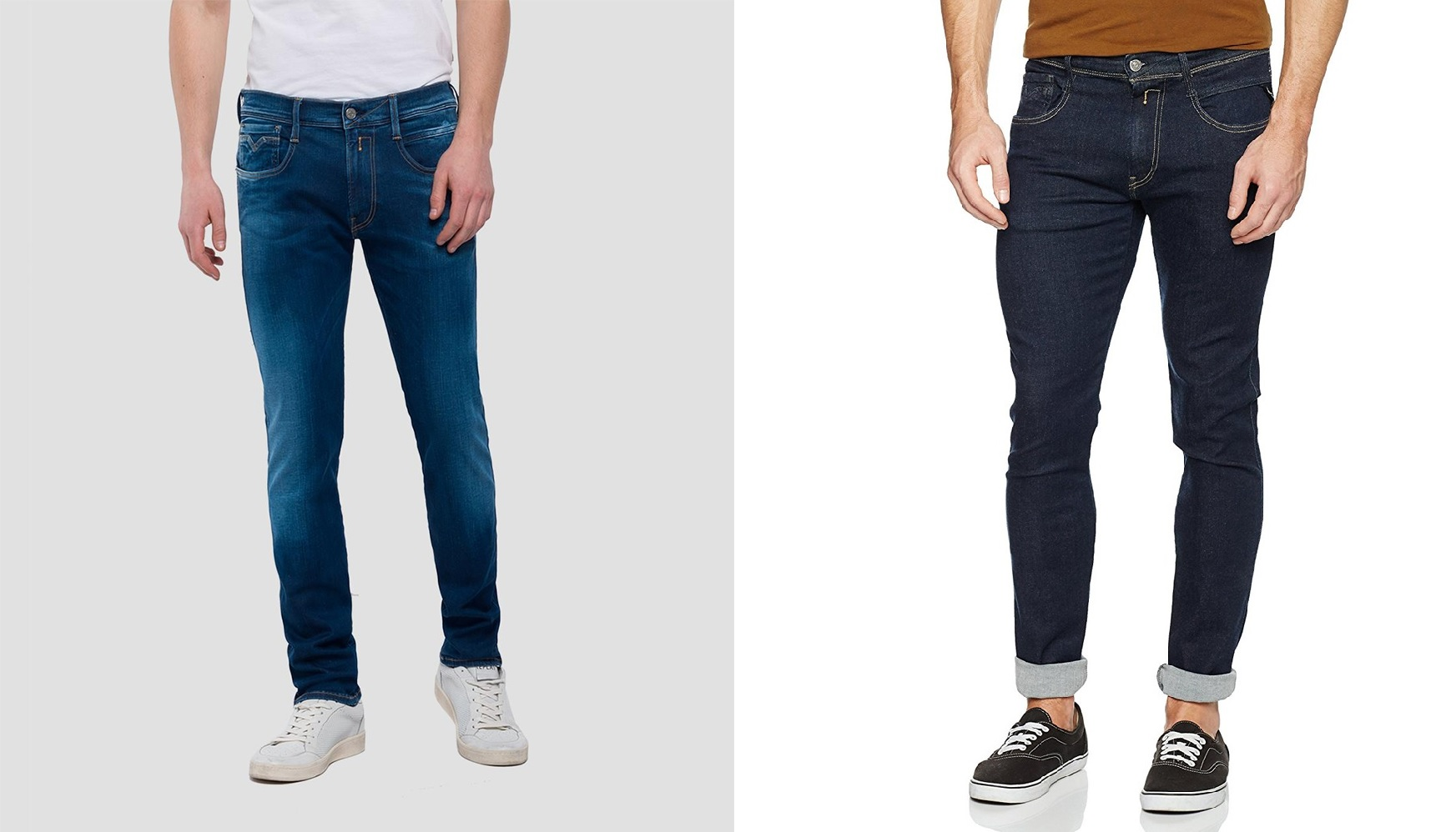 Anbass Hyperflex Slim Jean by Replay