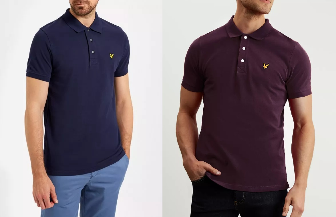 SP400 Short Sleeve Pique Polo Shirt by Lyle and Scott