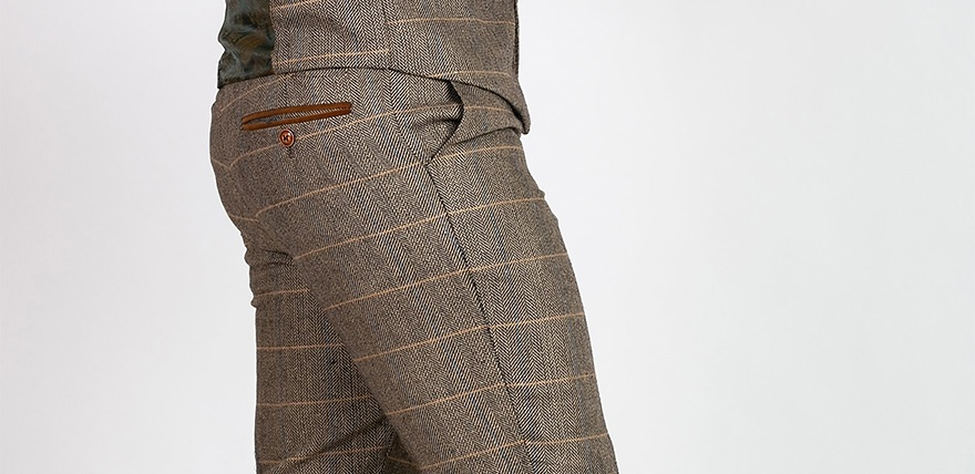Marc Darcy tweed trousers