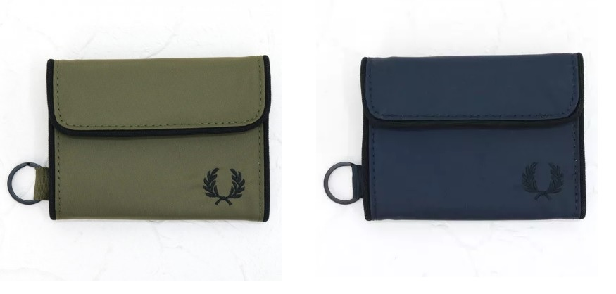 L4209 Sport Nylon Wallet by Fred Perry