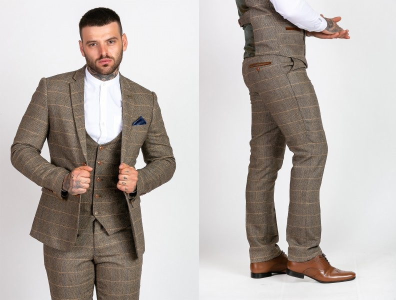 Ted Tan Heritage Tweed Jacket and Trousers by Marc Darcy