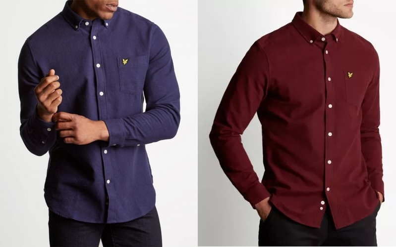 Lyle and Scott Winter Weight Flannel Shirts