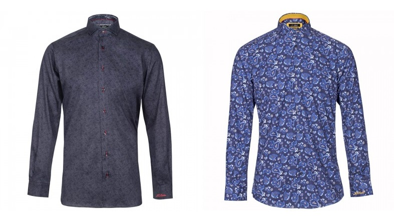 Leone Paisley Print Shirt by Jiggler Lord Berlue