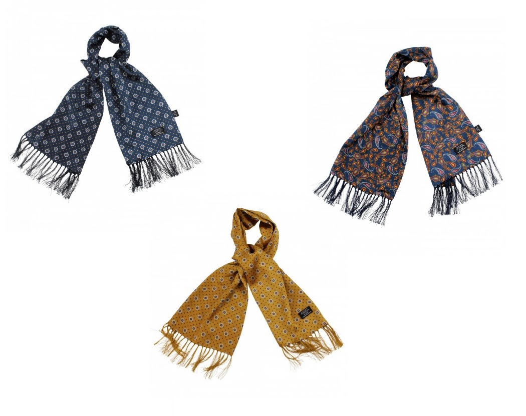 TV1810 Polka & Geo Print Scarf by Tootal
