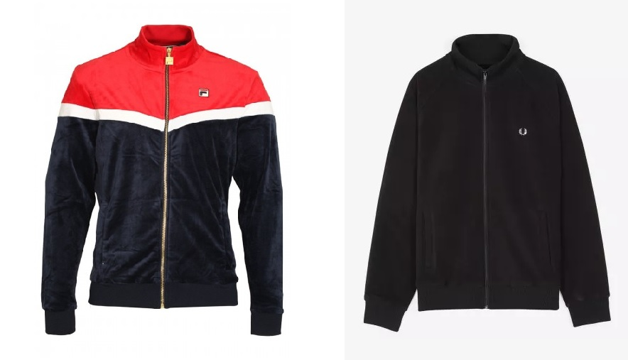 Harry Velour Track Top by Fila