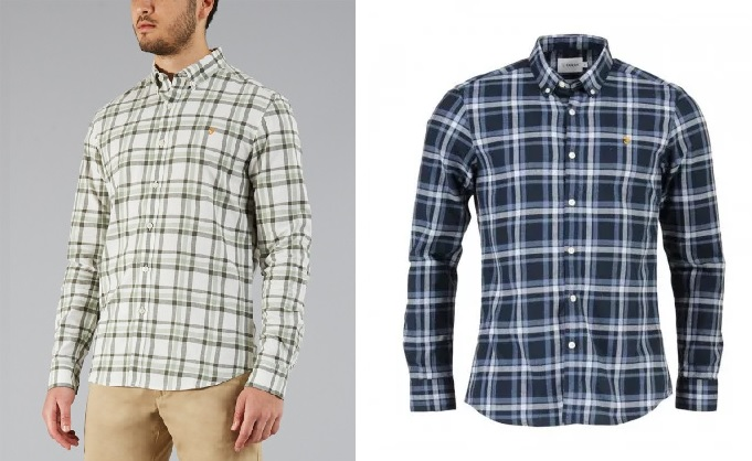 Farah Staton Check Shirts