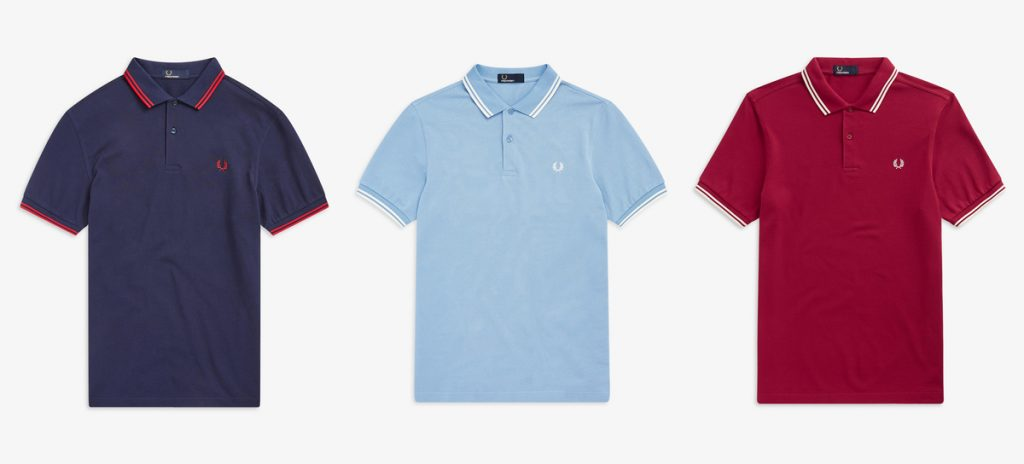 M3600 Twin Tipped Pique Polo Shirts by Fred Perry