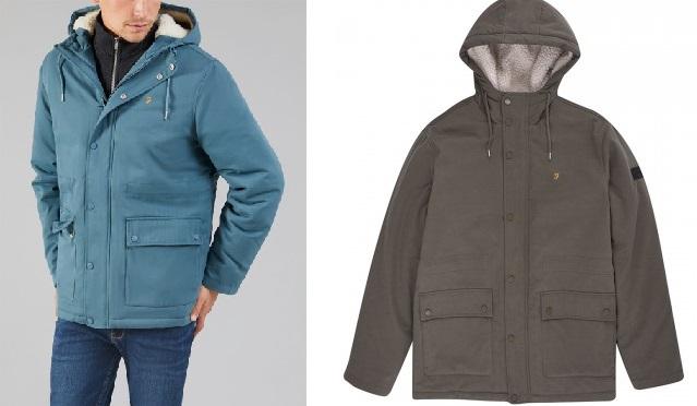 Farah Faux Fur Hooded Jacket
