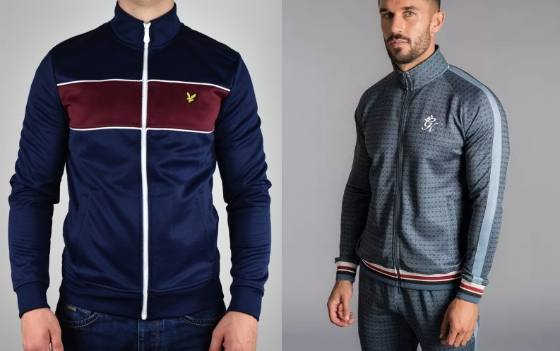 Sporty Track Tops by Lyle & Scott and Gym King