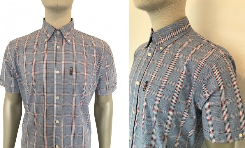 Prince Of Wales Check Shirt by Trojan
