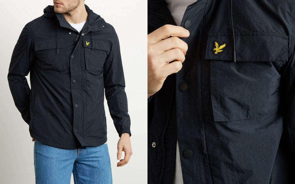 Pocket Jacket by Lyle and Scott
