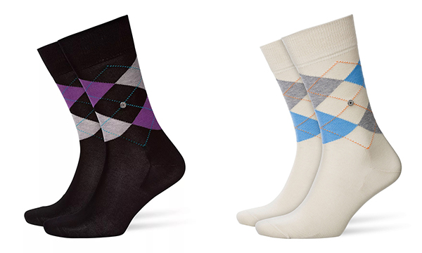Manchester Cotton Argyle Sock by Burlington