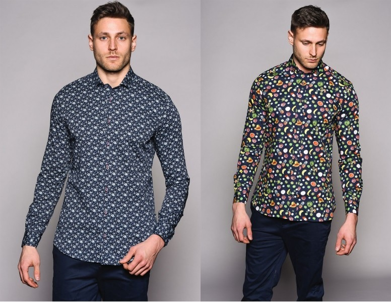 Smart Casual Printed Shirts by Jiggler Lord Berlue