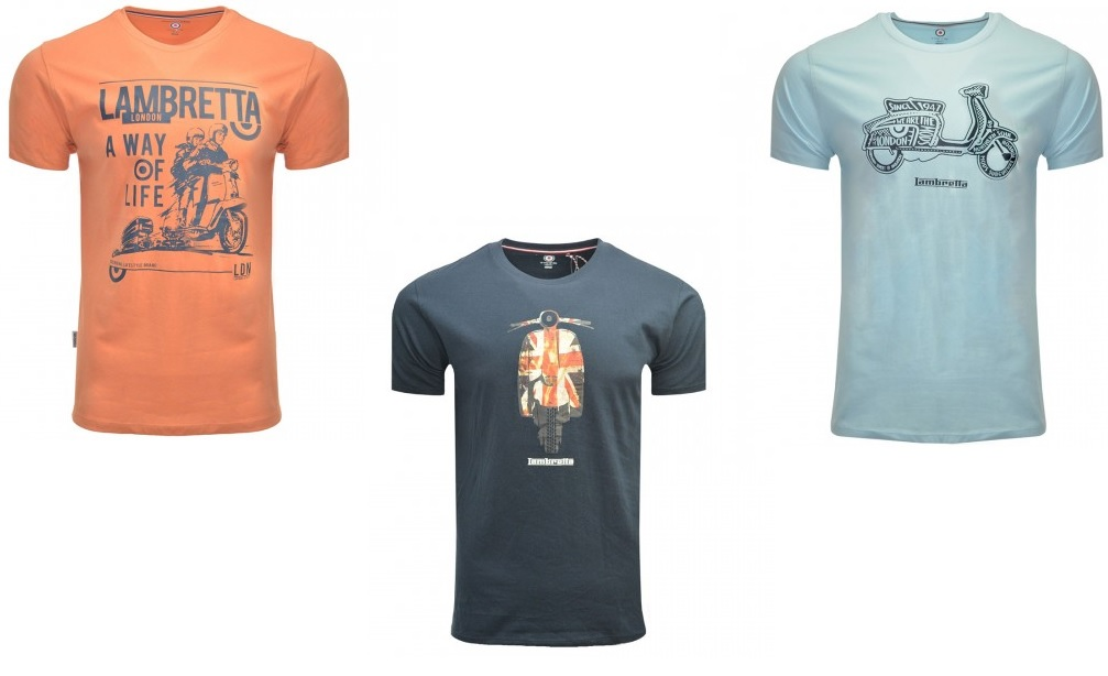 Lambretta Scooter T Shirts