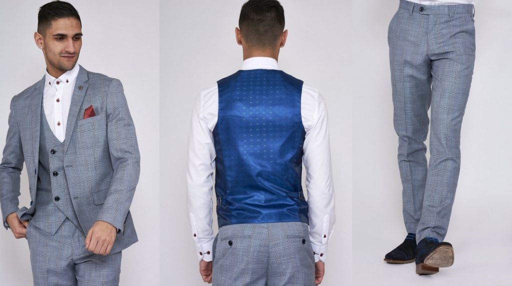 York Suit and Trousers by Marc Darcy