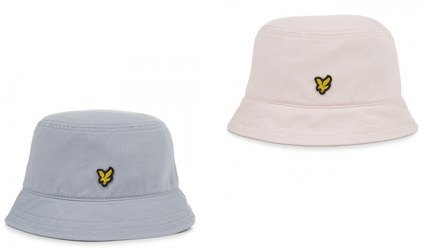 Washed Twill Bucket Hat by Lyle and Scott